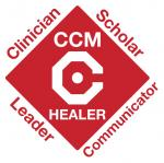 Critical Care Medicine Mission Logo: Clinican, Scholar, Communicator, Leader