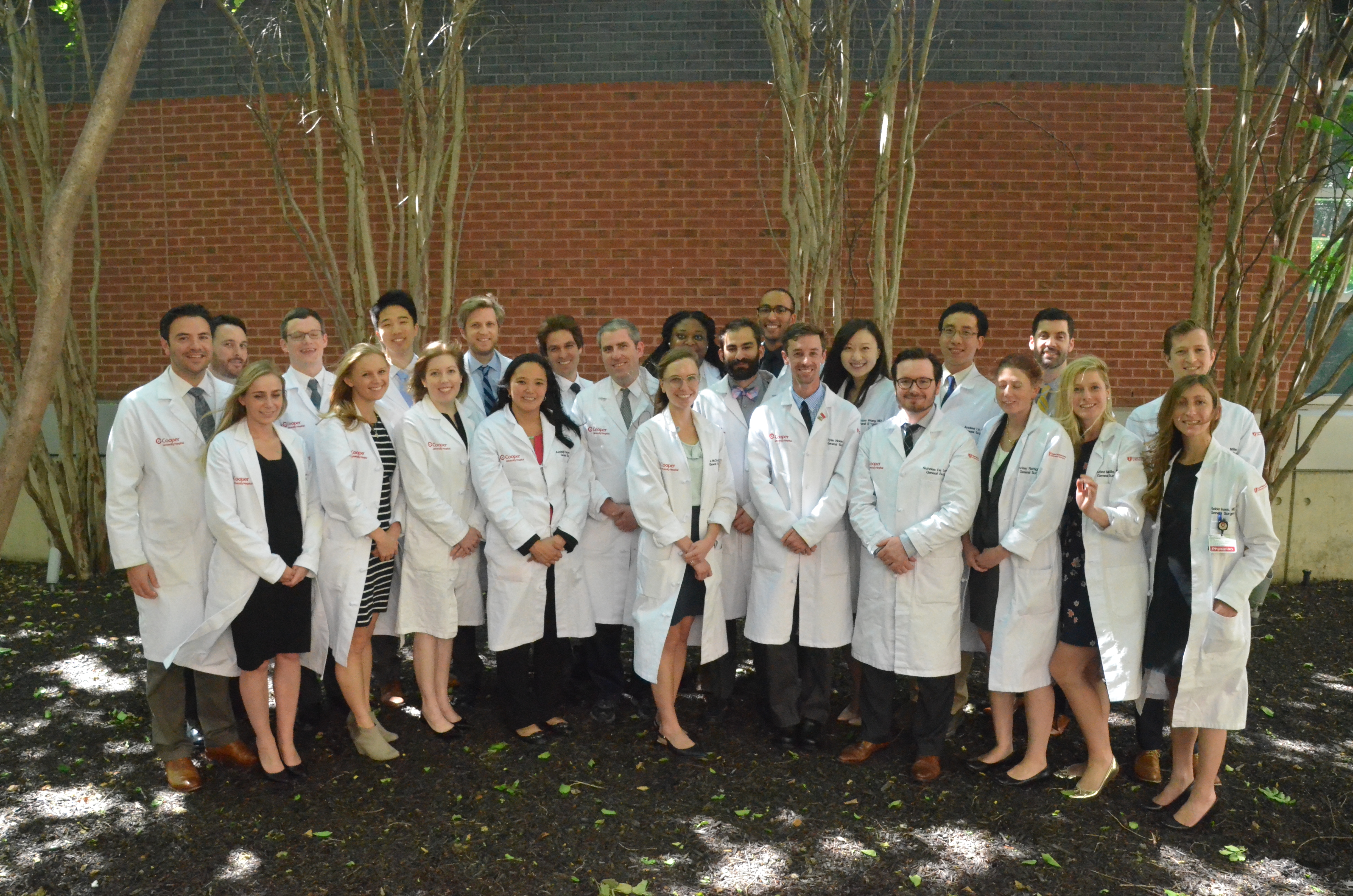 2018-2019 General Surgery Class Photo